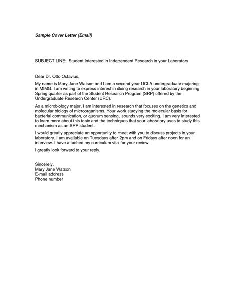cover letter with email address cover letter exles email the best letter sle