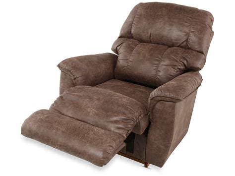 in a recliner la z boy lawrence silt rocker recliner mathis brothers