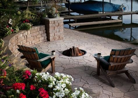 how to build a gas firepit how to build a gas pit pit ideas