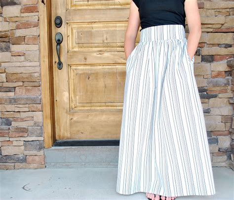 10 maxi skirts you must make for your closet the sewing loft