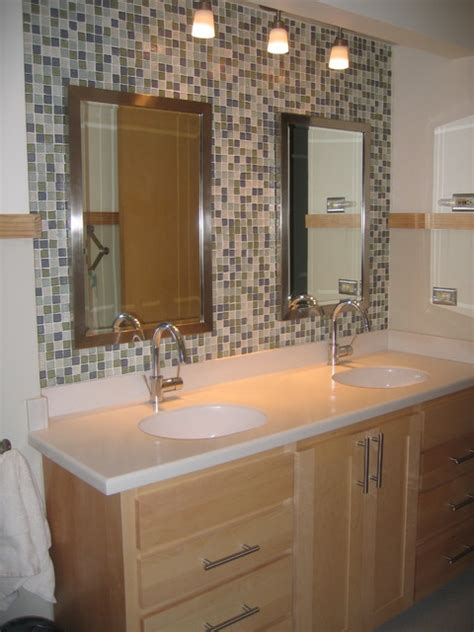 Bathroom Recycled Glass Tiles Bathroom Recycled Glass Tile
