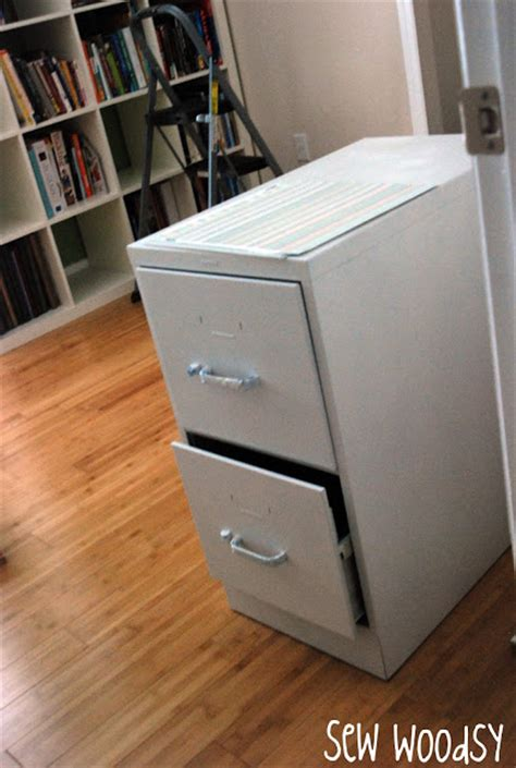 mod podge file cabinet make sew woodsy