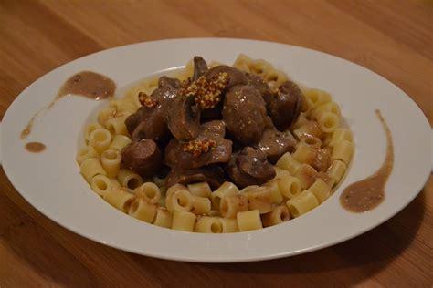 recette cuisine companion rognons de boeuf carottes chignons et sauce moutarde