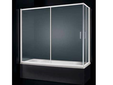 parete vasca scorrevole parete per vasca con apertura scorrevole glass d03 by