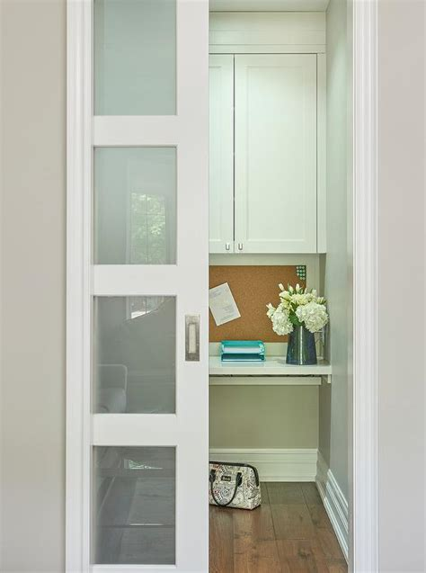 frosted glass pocket door contemporary bathroom