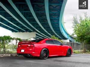 the dodge charger srt8 w cor forma forged wheels