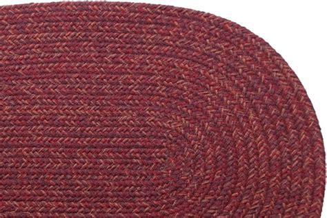 burgundy braided rug country burgundy braided rug
