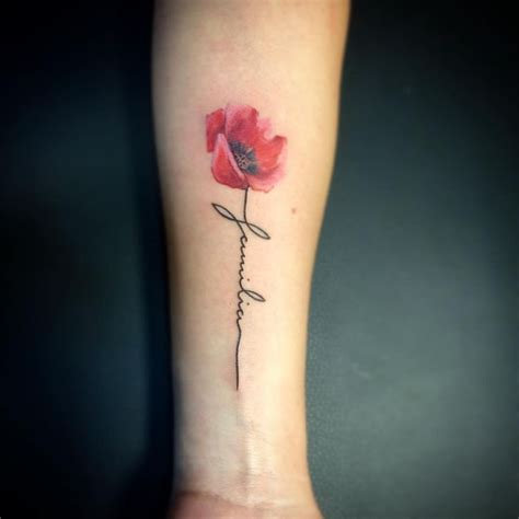watercolor poppy tattoo best 20 watercolor poppy ideas on