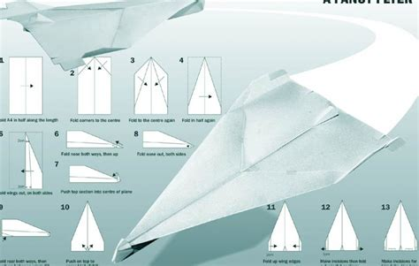 Paper Airplanes Step By Step - how to make a paper airplane step by step