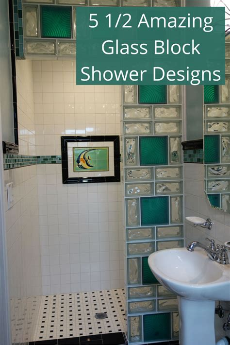glass block bathroom ideas glass block bathroom designs glass block divider design in