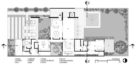 modern house plans interior courtyard mexico escortsea