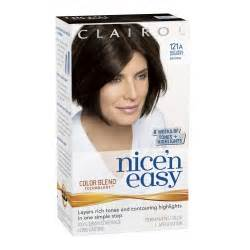 and easy hair color clairol 10 by n easy hair color 03 darkest