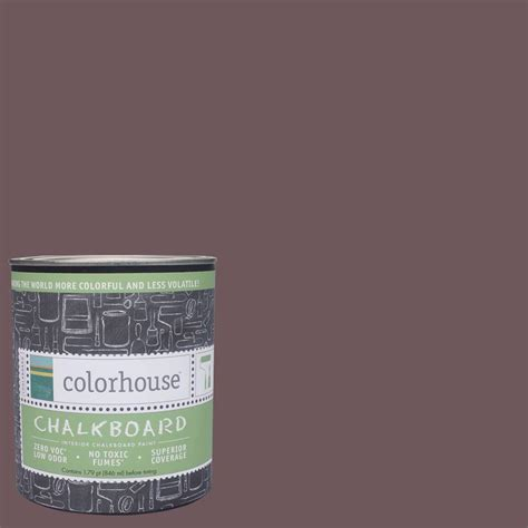 colorhouse 1 qt wood 05 interior chalkboard paint 644670 the home depot