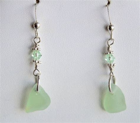 Handmade Sea Glass Jewelry - 1000 images about sea glass earrings on
