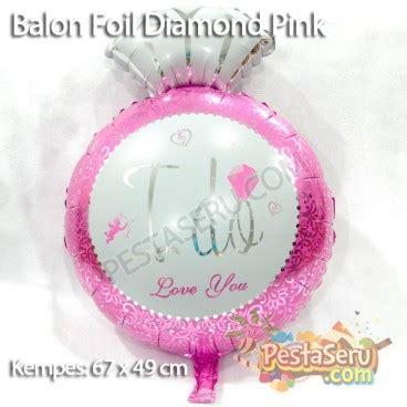 balon foil cincin i do balon foil i do pink pestaseru toko grosir