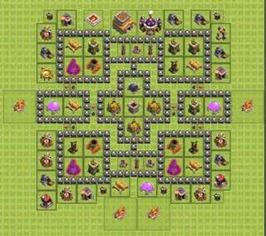 Pacman ground quot th8 farming base please comment thanks you all