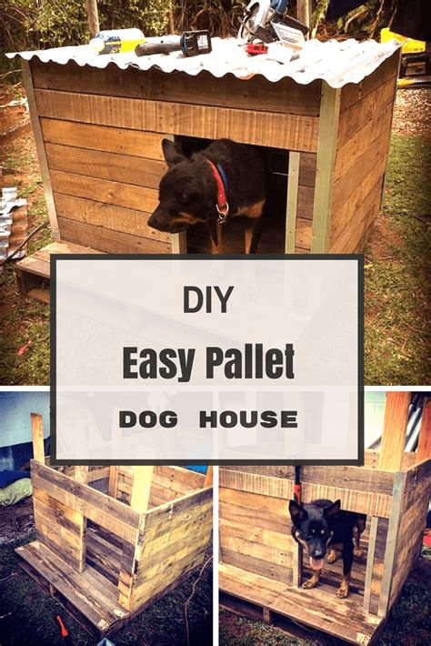 diy house 21 awesome diy dog houses with free step by step plans pallet dog house dog houses and pallets