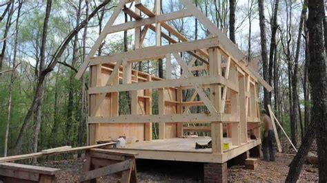 what is an a frame house building our cabin youtube