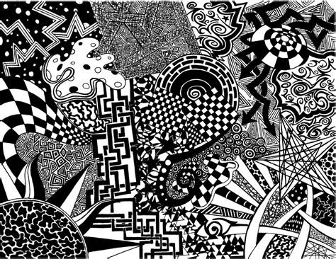 pattern artist black and white chaos pattern by rastarider87 on deviantart