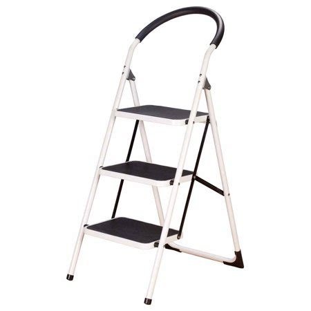 Easycomforts Wide Step Stool by Easycomforts 3 Step Ladder Stool Combo Walmart