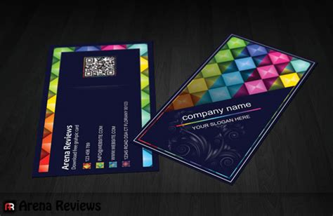 Graphic Design Business Card Templates free stylish corporate business card template