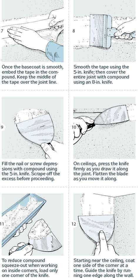 how to finish drywall 18 steps to smooth joints