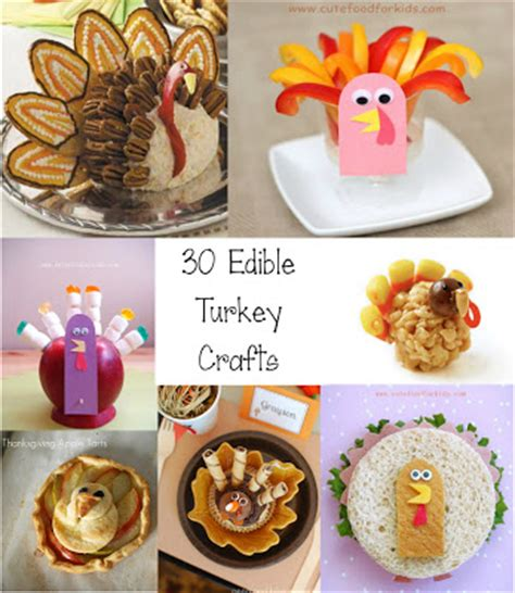 edible kid crafts food for 30 edible turkey craft ideas for