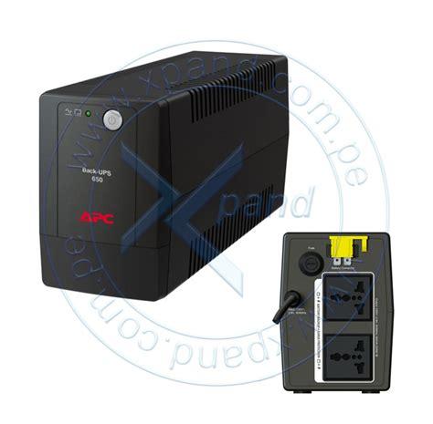 Bx650li Ms ups apc bx650li ms interactivo 650va 325w 230v avr 2