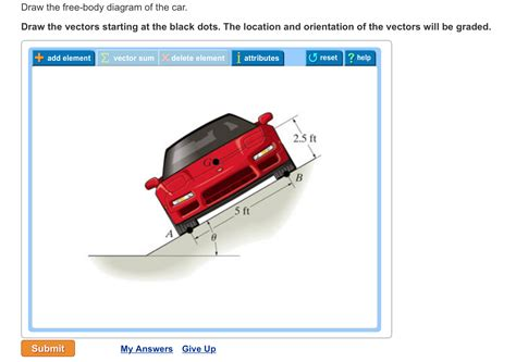 solved draw the free diagram of the car draw the ve
