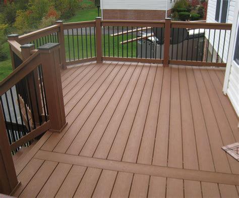 variety  railing options  decks
