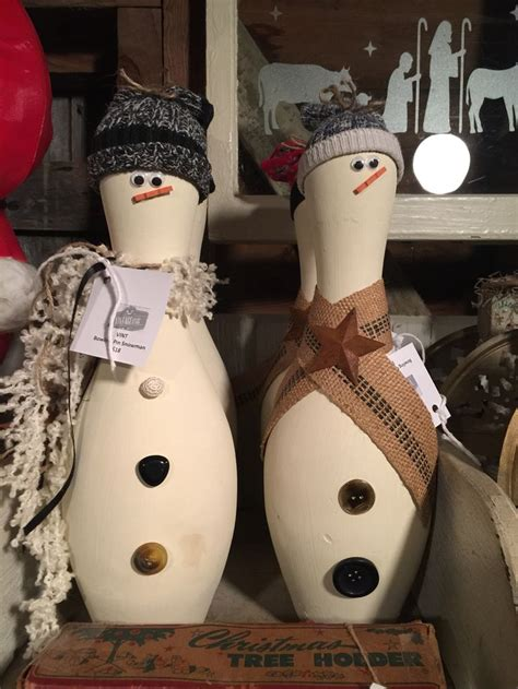 slidegossip on pinterest 27 pins bowling pin snowmen vintageitis christmas creations
