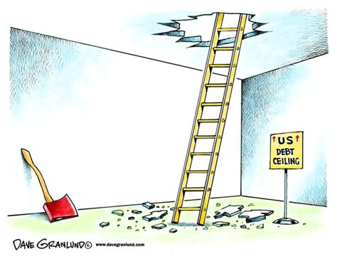 Debt Ceiling Political Cartoons | dave granlund editorial cartoons and illustrations