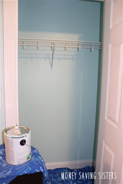 kid s room small closet makeover on a budget money saving