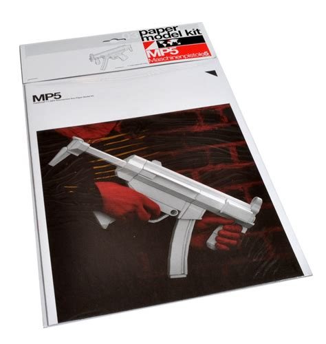 How To Make A Paper Mp5 - gestalten mp5