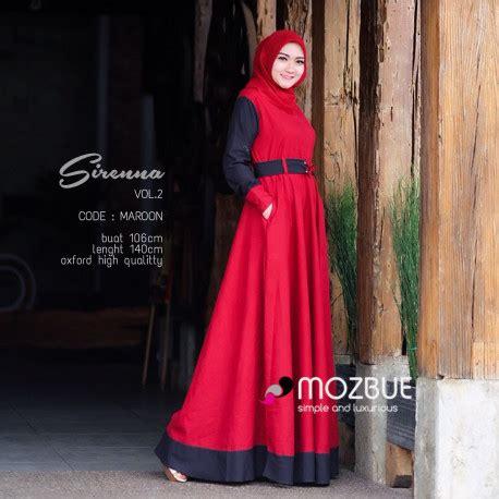 Gamis Amima Melody Dress Milo Gamis Baju Muslim Dress gamis casual sirenna dress by mozbue pusat grosir baju muslim