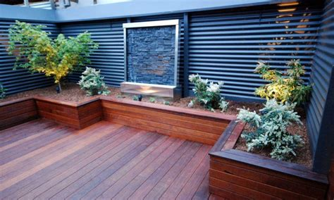 Garden Ideas With Decking Small Backyard Decks With Tubs Landscaping Gardening Ideas
