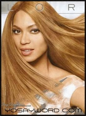 l oreal accused of whitening beyonce white washed in l oreal ad yosayword