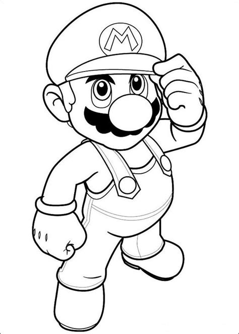 Coloring Pages For Boys Free Download Mario Coloring Pages For Boys