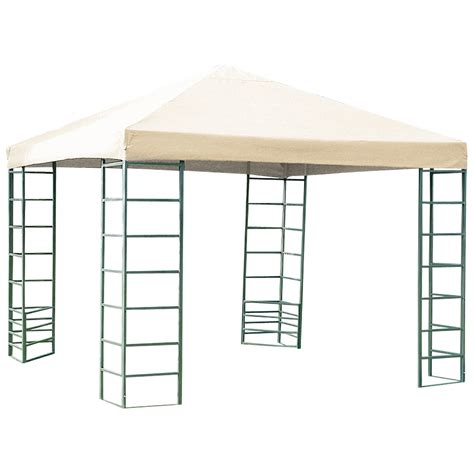wetterfester pavillon 3x3 meters stabiler pavillon rimini 3x3 meter stahlgestell dach