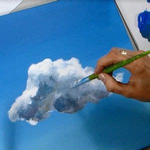 Modeles De Tableaux Acrylique à Reproduire Gratuits ac12 peindre des nuages 224 l acrylique acrylique