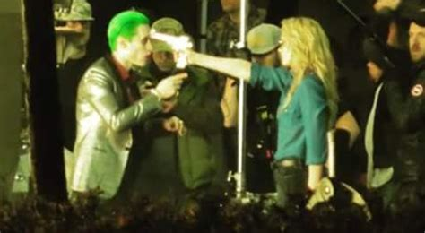 Imagenes Joker Suicide Squad | video pics of the joker and harley quinn in quot suicide