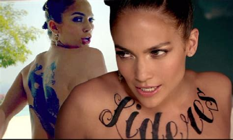 jennifer lopez tattoo 5 best tattoos and what they signify