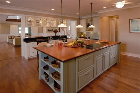 kitchen island wood top tens of inspiring kitchen islands with storage and chairs decohoms