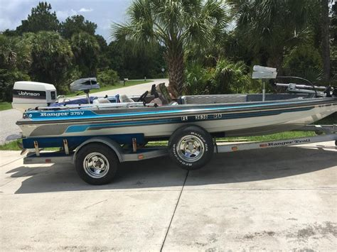 used ranger bass boats for sale on craigslist 1986 ranger 375v powerboat for sale in florida