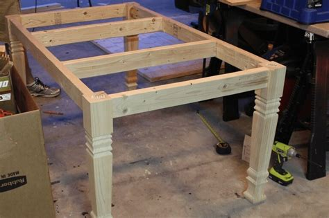 Diy Kitchen Table Plans by Diy Farmhouse Table Free Plans Rogue Engineer