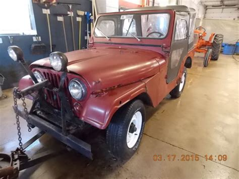 Jeep With Snow Plow For Sale 1977 Jeep Cj5 W Snow Plow T1249660 For Sale Photos