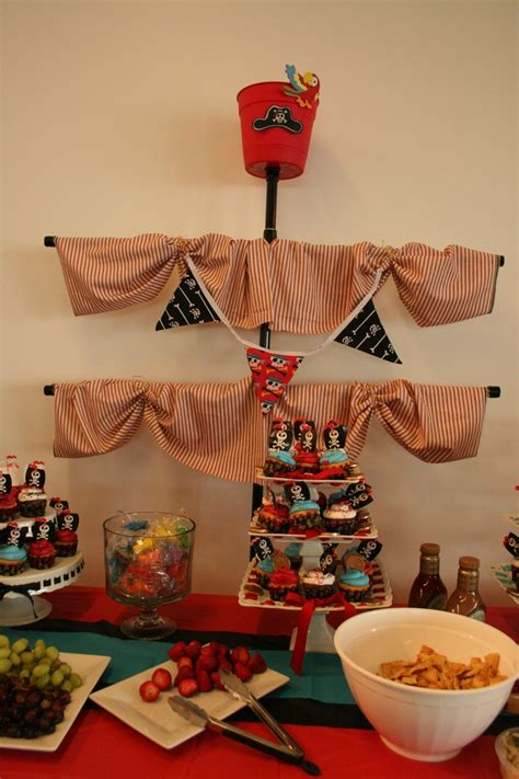 Pirate Theme Baby Shower pirate mast for baby shower baby showers