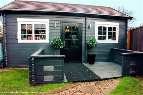 Back Garden Sheds by The Shed Workshop Studio From Back Garden Owned By