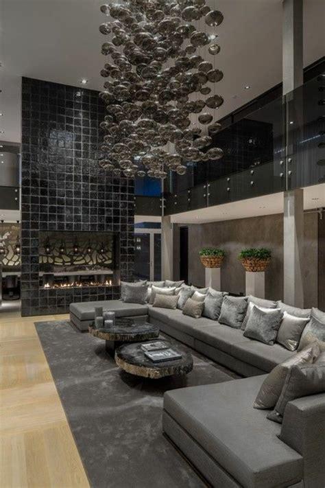 Kronleuchter Interio by 110 Luxus Wohnzimmer Im Einklang Der Mode