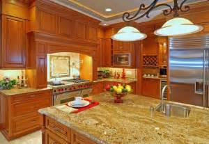 Maple Kitchen Cabinets With Granite Countertops Antique White Kitchen Cabinets With Granite Countertops